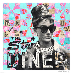 """Audrey's Stars Diner"" by Robert Mars - Limited Edition, Archival Print"