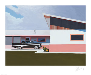 "Jessica Brilli ""Betty's Visit"" - Archival Print, Limited Edition of 15 - 14 x 17"""