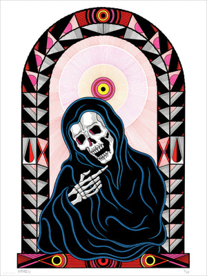"""Come to Death"" by Bonethrower - Limited Edition, Archival Print - 18 x 24"""