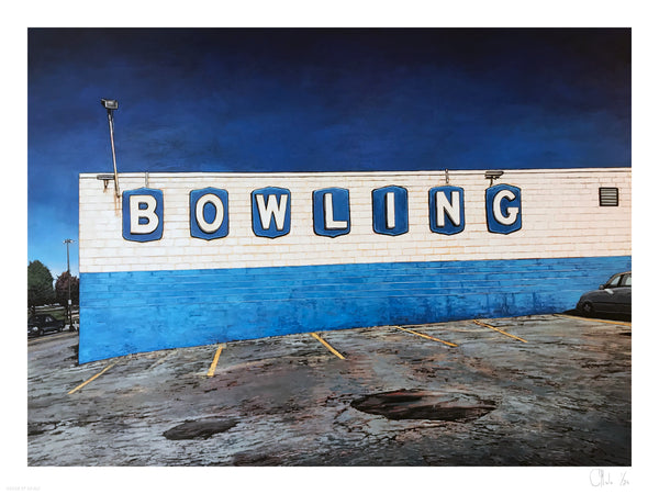 "Andrew Houle ""Bowling"" - Archival Print, Limited Edition of 25 - 18 x 24"""