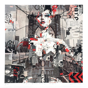 """Full Volume Brooklyn Bridge"" by Derek Gores - Limited Edition, Archival Print"
