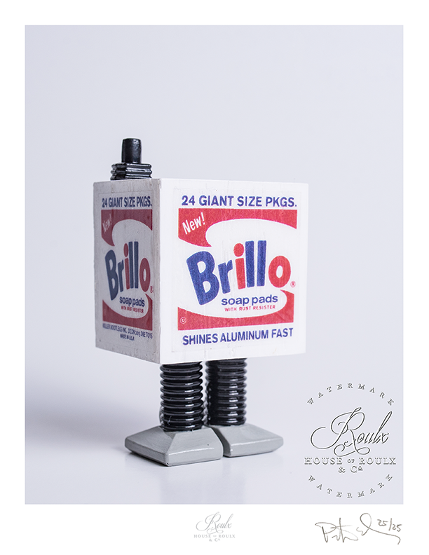 "Killer Bootlegs ""Star Warhol - 2nd Edition - White Brillo Gonk"" - Limited Edition, Archival Print"