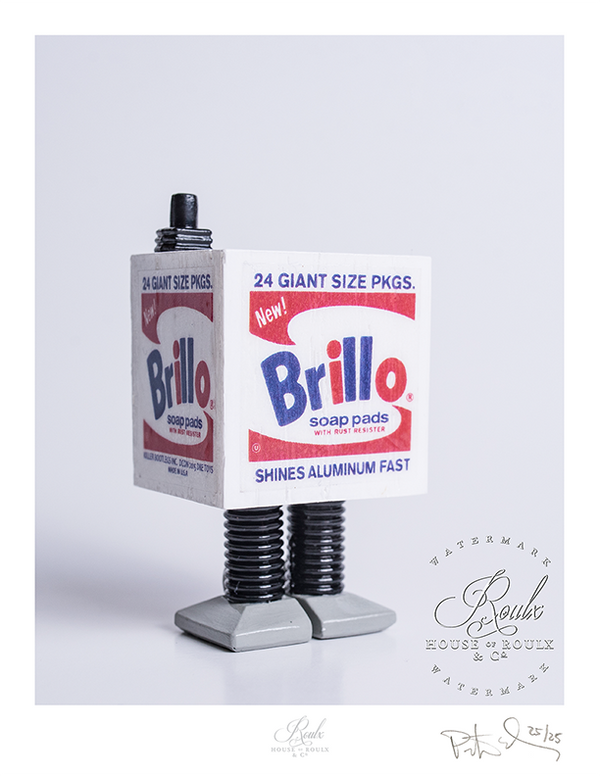 """Star Warhol - 2nd Edition - White Brillo Gonk"" by Killer Bootlegs - Limited Edition, Archival Print"