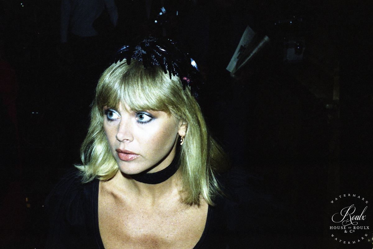 Britt Ekland (by Peter Warrack) - Limited Edition, Archival Print