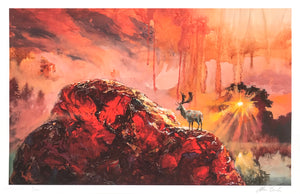 "Adam Burke ""Carnelian Dawn"" - Archival Print, Limited Edition of 20 - 11 x 17"""