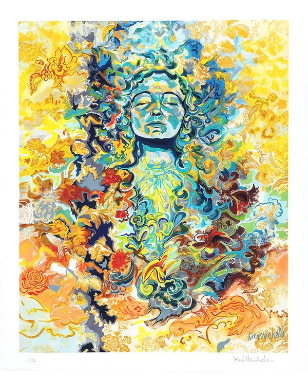 "Kim Michelle ""Parvati Goddess of Love"" - Archival Print, Limited Edition of 12 - 14 x 17"""