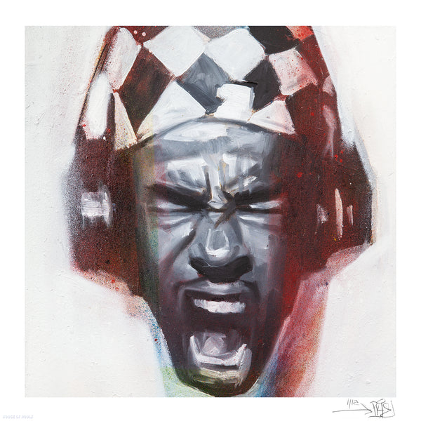 "Percy Fortini-Wright ""Busta Rhymes"" - Archival Print, Limited Edition of 12 - 12 x 12"""
