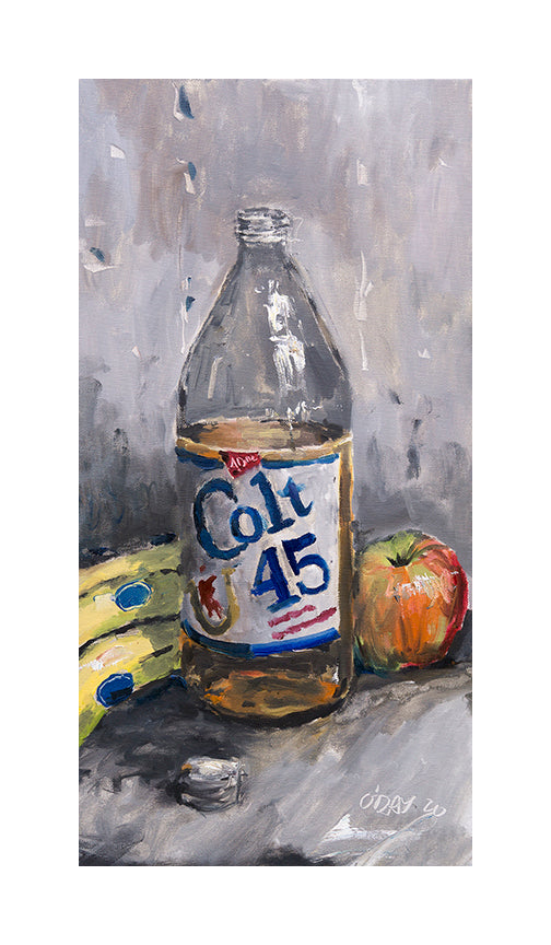 "Adam J. O'Day ""Colt 45"" - BLM BENEFIT TIMED RELEASE - 7 x 12"""