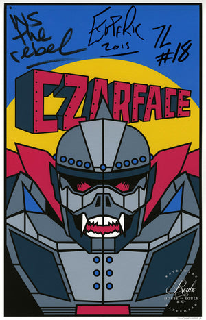 CZARFACE - Limited Edition, Signed Fine Art Print