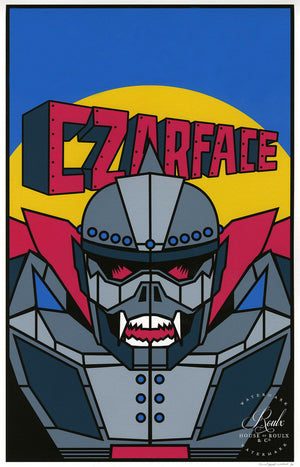 CZARFACE - Fine Art Print - Limited Edition of 35