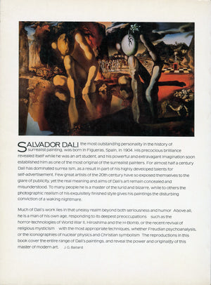Salvador Dalí - Signed Book, First Printing - 1974
