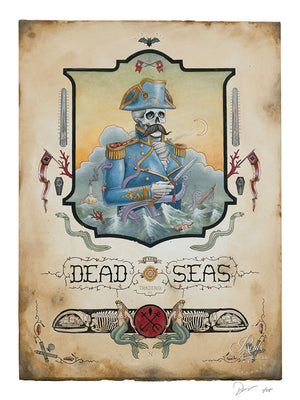 """The Dead Seas"" by Derek Nobbs - Limited Edition, Archival Print"