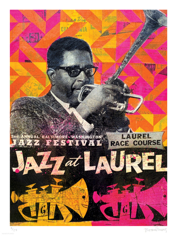 "Robert Mars ""Jazz at Laurel"" - Archival Print, Edition of 25 - 18 x 24"""