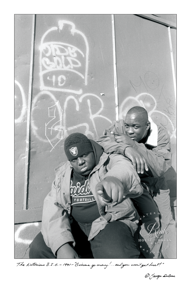 Notorious B.I.G. (by George Dubose) - Limited Edition, Archival Print
