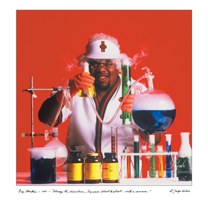 Biz Markie (by George DuBose) - Limited Edition, Archival Print