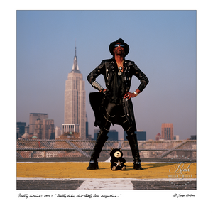 Bootsy Collins (by George DuBose) - Limited Edition, Archival Print