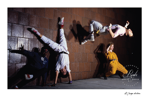 Breakdancers, NYC, 1980s (by George DuBose) - Limited Edition, Archival Print