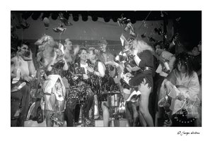 Rudolf Pieper & Dianne Brill, Danceteria (by George DuBose) - Limited Edition, Archival Print
