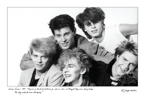 Duran Duran (by George DuBose) - Limited Edition, Archival Print