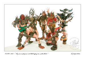 GWAR (by George DuBose) - Limited Edition, Archival Print