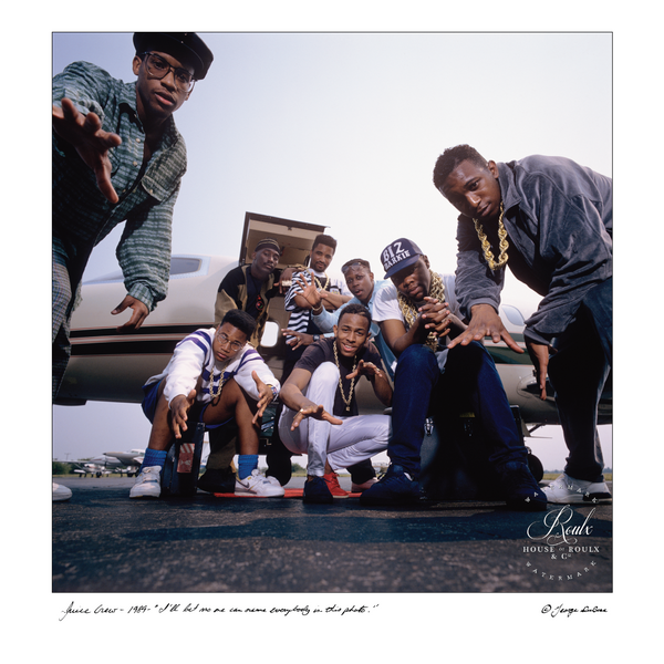 Marley Marl & The Juice Crew (by George DuBose) - Limited Edition, Archival Print
