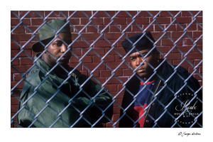 Kool G. Rap & DJ Polo (by George DuBose) - Limited Edition, Archival Print
