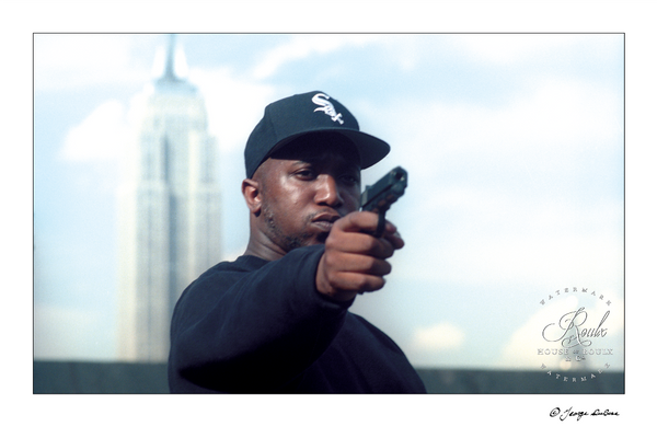 Kool G. Rap (by George DuBose) - Limited Edition, Archival Print