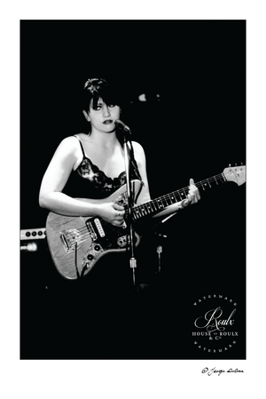 Lydia Lunch (by George DuBose) - Limited Edition, Archival Print