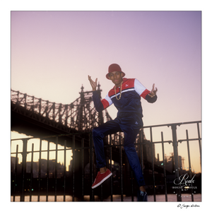 MC Shan (by George DuBose) - Limited Edition, Archival Print