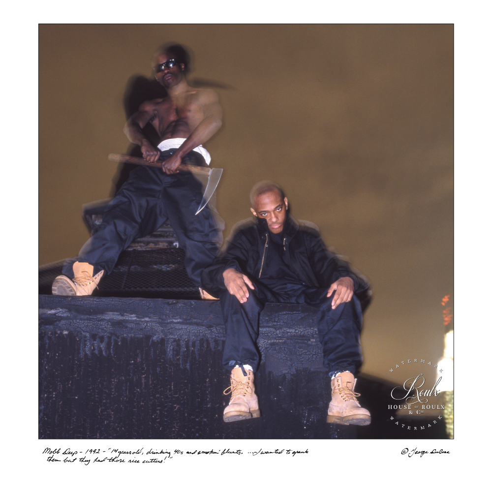 Mobb Deep (by George DuBose) - Limited Edition, Archival Print