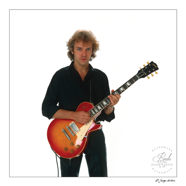 Peter Frampton (by George DuBose) - Limited Edition, Archival Print