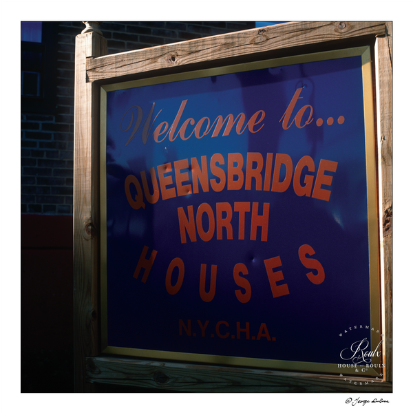 Queensbridge Projects (by George DuBose) - Limited Edition, Archival Print