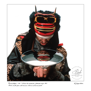 Rammellzee (by George DuBose) - Limited Edition, Archival Print