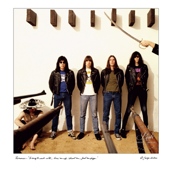 Ramones (by George DuBose) - Limited Edition, Archival Print