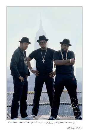 Run-DMC (by George DuBose) - Limited Edition, Archival Print