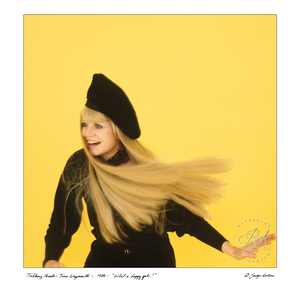 Tina Weymouth of Talking Heads (by George DuBose) - Limited Edition, Archival Print