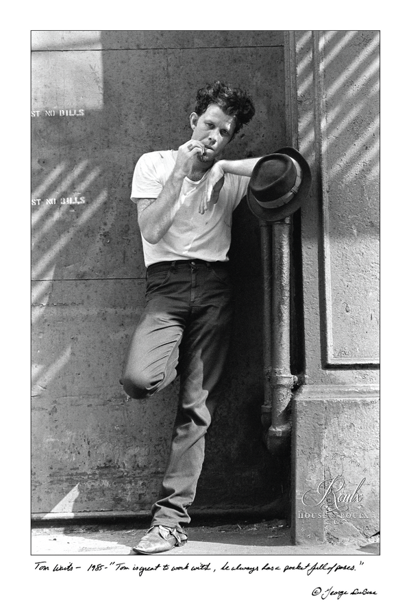 Tom Waits (by George DuBose) - Limited Edition, Archival Print
