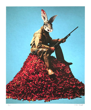 "Moon Patrol ""Duck Season"" - Archival Print, Limited Edition of 25 - 14 x 17"""