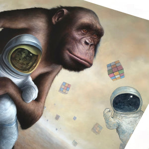 "Chris Leib ""Mind Field"" - Hand-Embellished Variant, #2/5 - 14 x 17"""