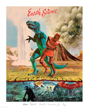 """Earth Science II"" by Moon Patrol - Limited Edition, Archival Print - 14 x 17"""