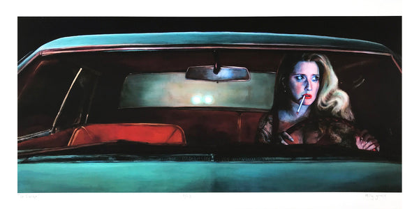 "Kelly Grace ""The Escape"" - Archival Print, Limited Edition of 12 - 12 x 24"""