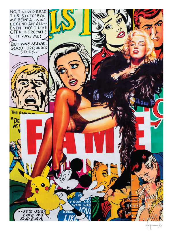 """F.A.M.E."" by Hagan Brothers - Limited Edition, Archival Print"
