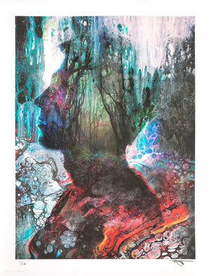 "Barrett Biggers ""Forest Flow"" - Archival Print, Limited Edition of 12 - 13 x 17"""