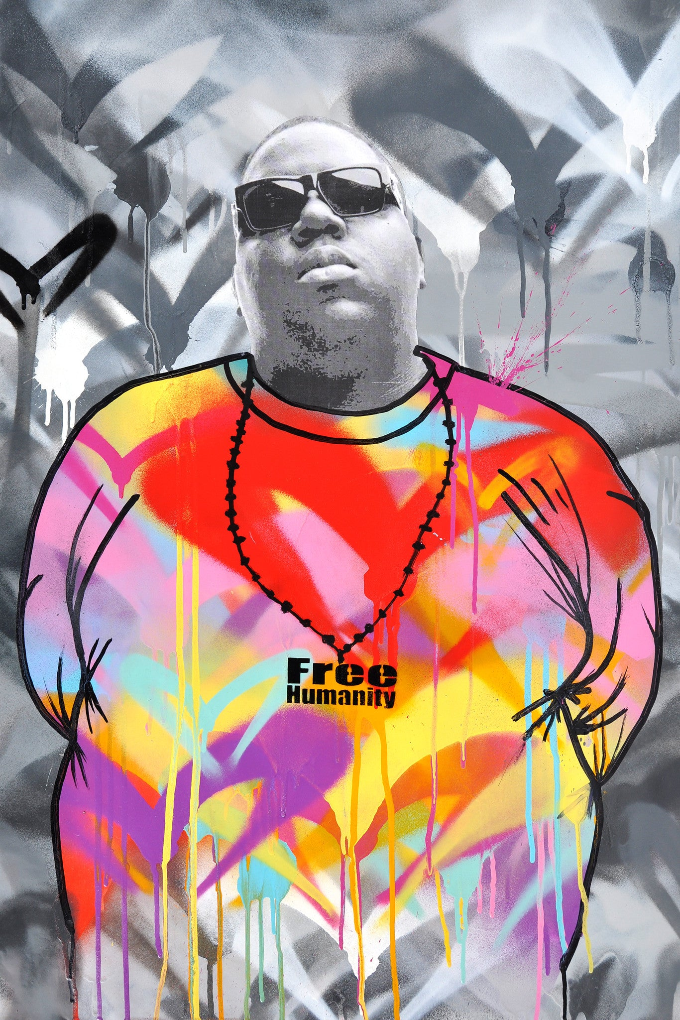 Notorious BIG By Free Humanity