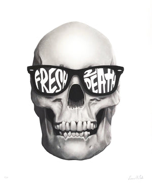 "Laura Fish ""Fresh2Death"" - Archival Print, Limited Edition of 12 - 14 x 17"""