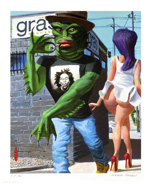 "Gregory Hergert ""Gras"" - Archival Print, Limited Edition of 12 - 14 x 17"""