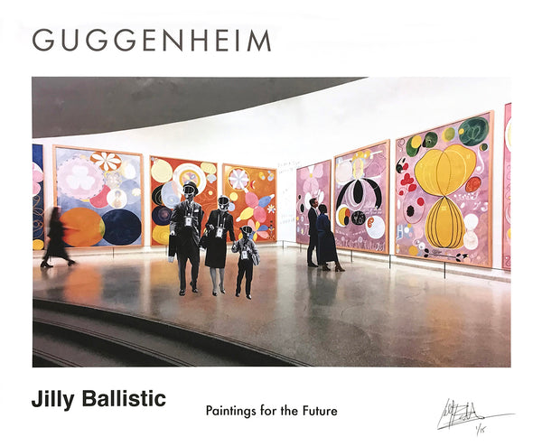 "Jilly Ballistic ""Paintings for the Future"" - Archival Print, Limited Edition of 15 - 14 x 17"""