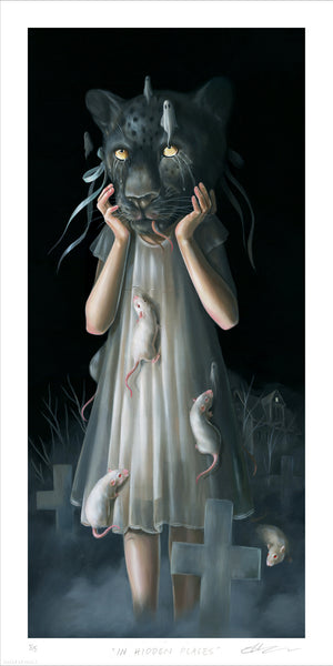 """In Hidden Places"" by Hanna Jaeun - Limited Edition, Archival Print - 12 x 24"""