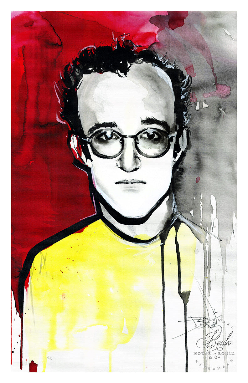 "Therése Rosier ""Keith Haring"" - Limited Edition, Fine Art Print"