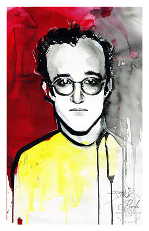 """Keith Haring"" by Therése Rosier - Limited Edition, Fine Art Print"